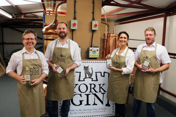 Croxsons Support Historical-Themed York Gin Launch