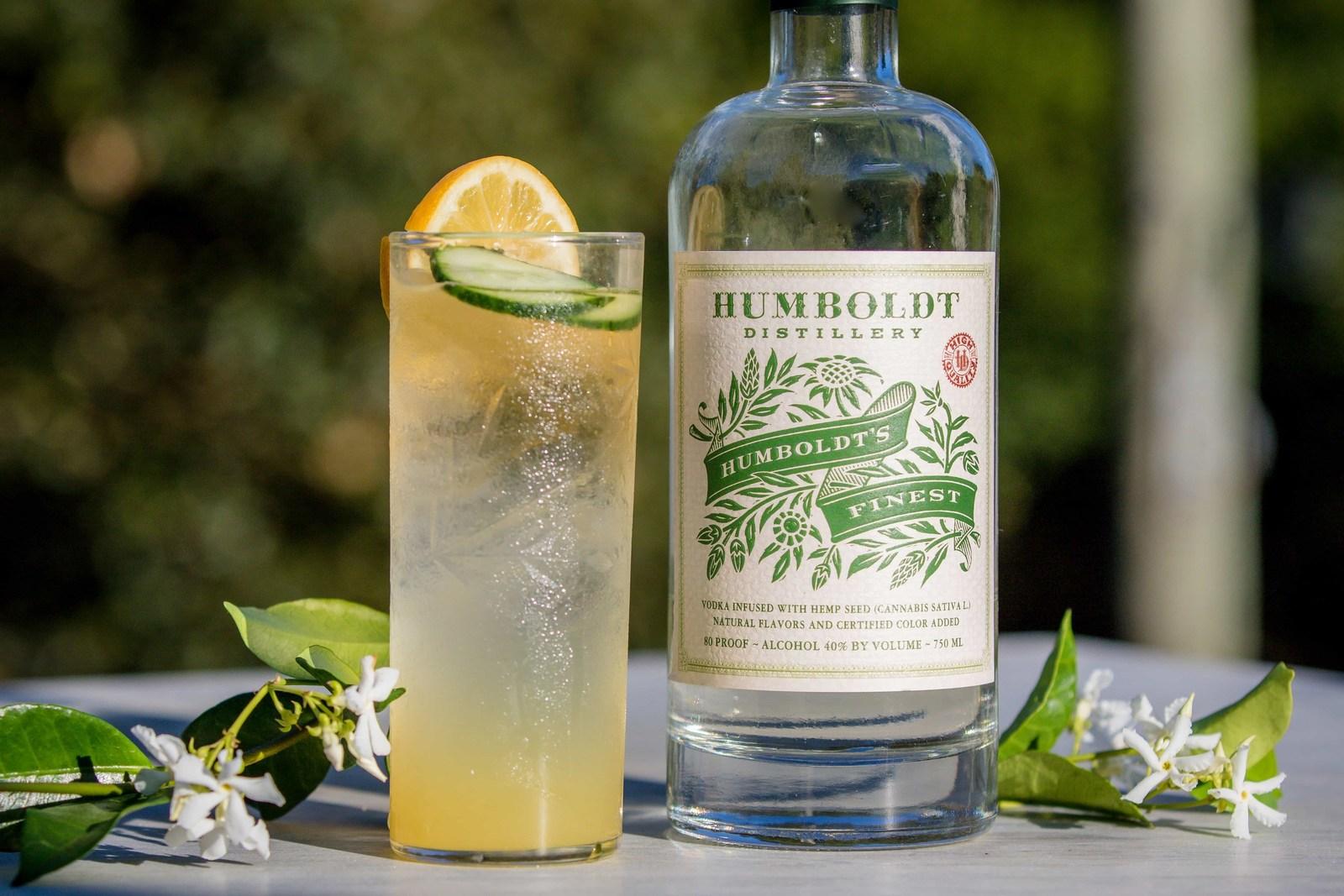 Humboldt Distillery Celebrates 4/20 With Cannabis-Infused Vodka