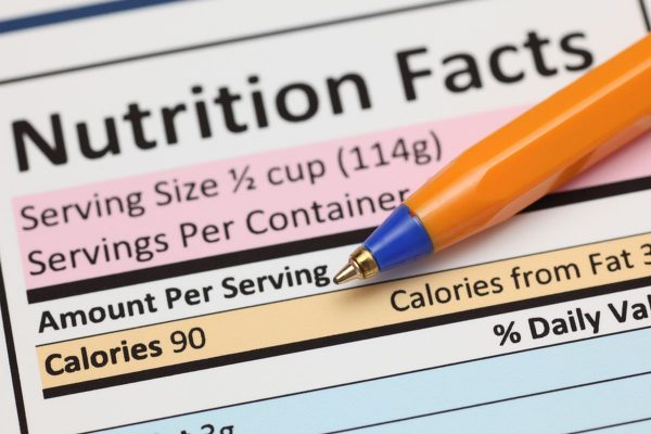 Is Your Serving Size Correct?