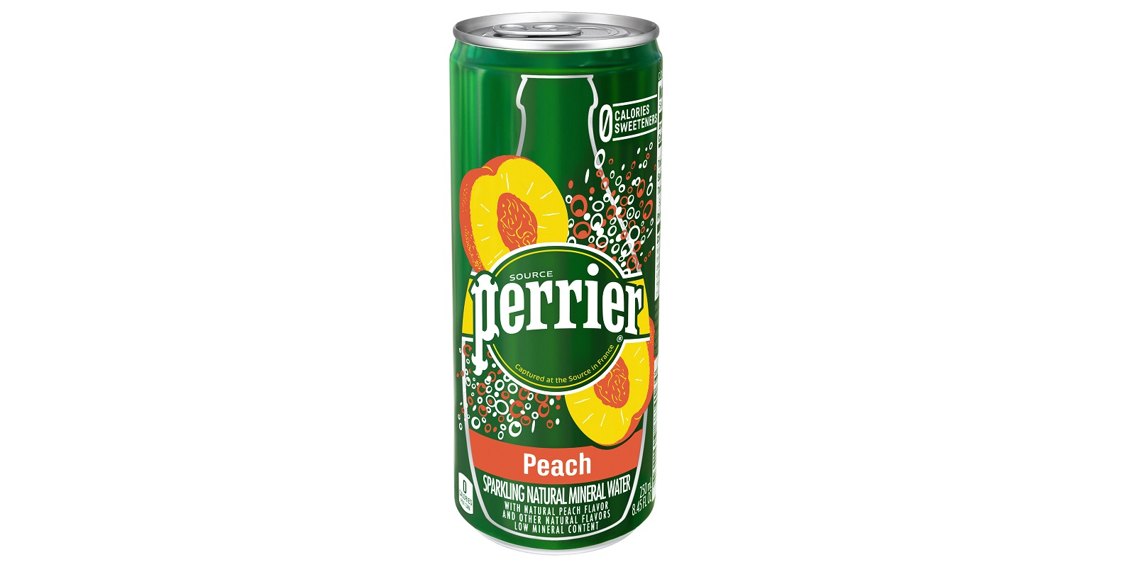 Perrier Introduces Peach