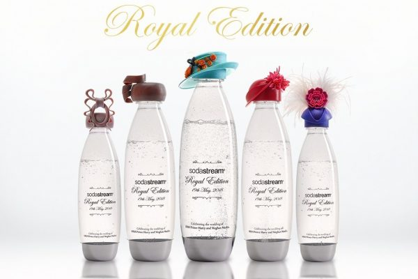 Soda Stream Releases Exclusive Royal Edition Bottles