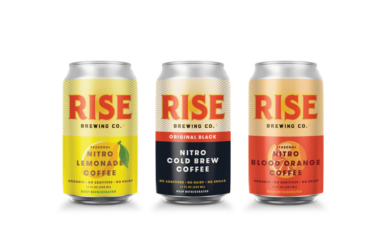 RISE Brewing Co - Nitro Cold Brew Coffee