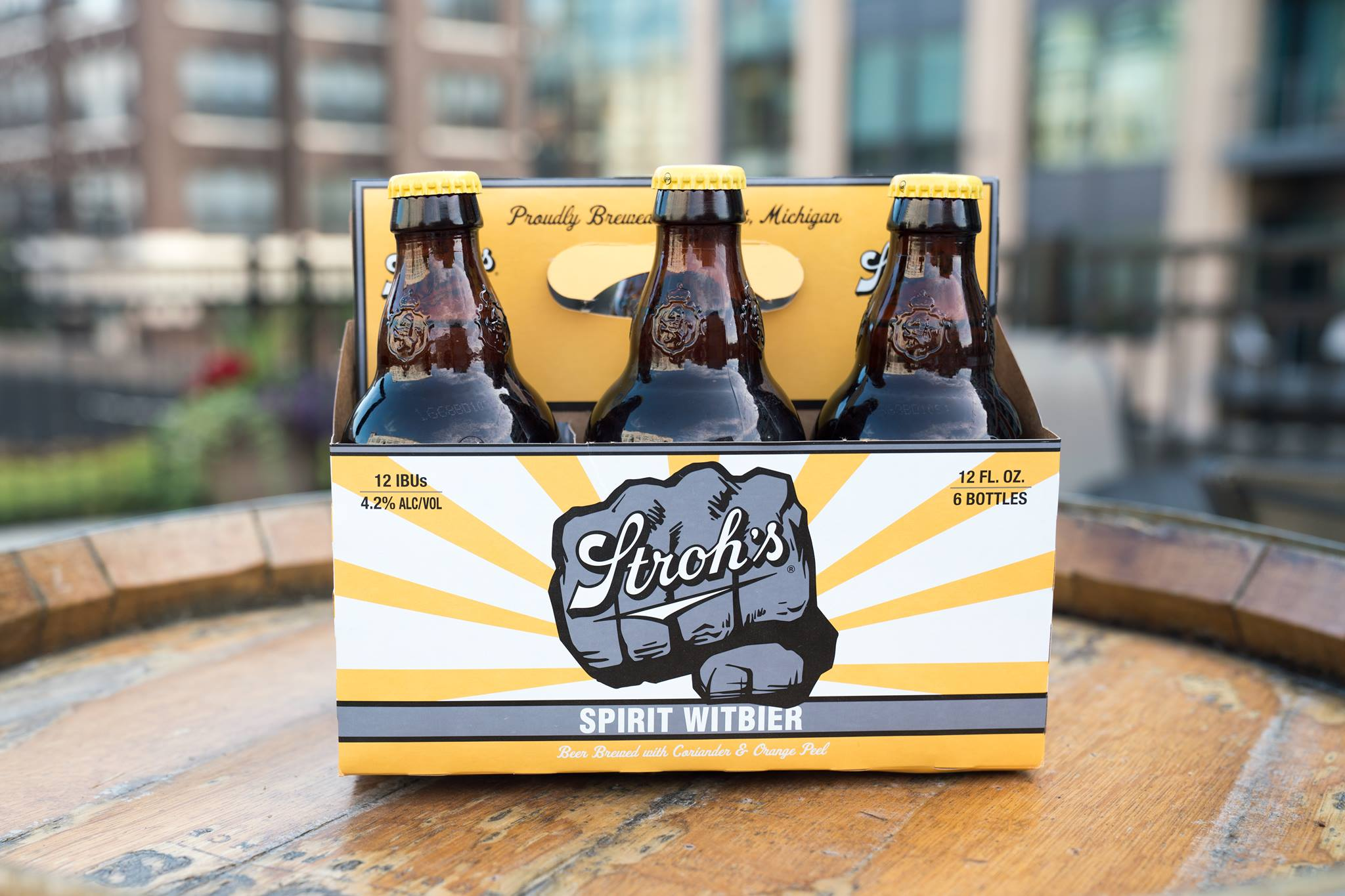 Stroh's Releases Seasonal Spirit Witbier In Michigan