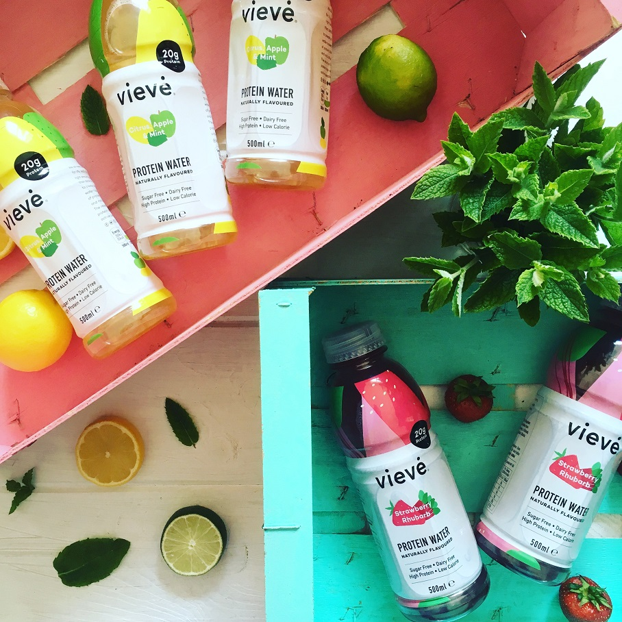 Veive - Naturally Flavoured Protein Water
