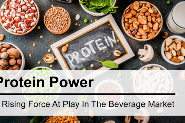 Protein Power – A Rising Force at Play in the Beverage Market