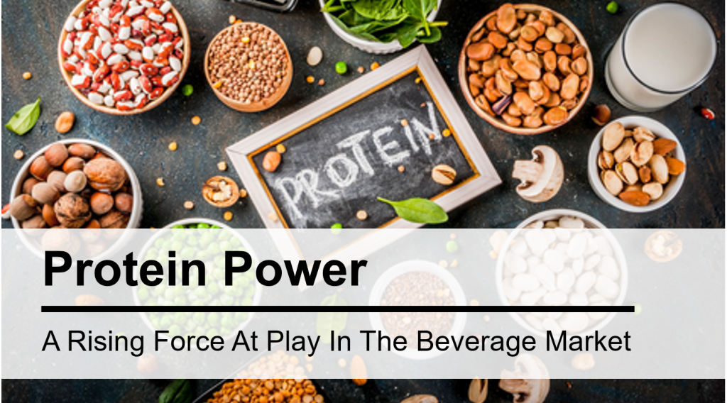 Protein Power - A Rising Force at Play in the Beverage Market