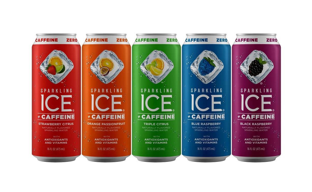 Sparkling Ice Debuts First Ever Line of Caffeinated Products