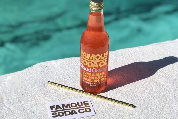 The Excellent Taste Of Famous Soda Co.