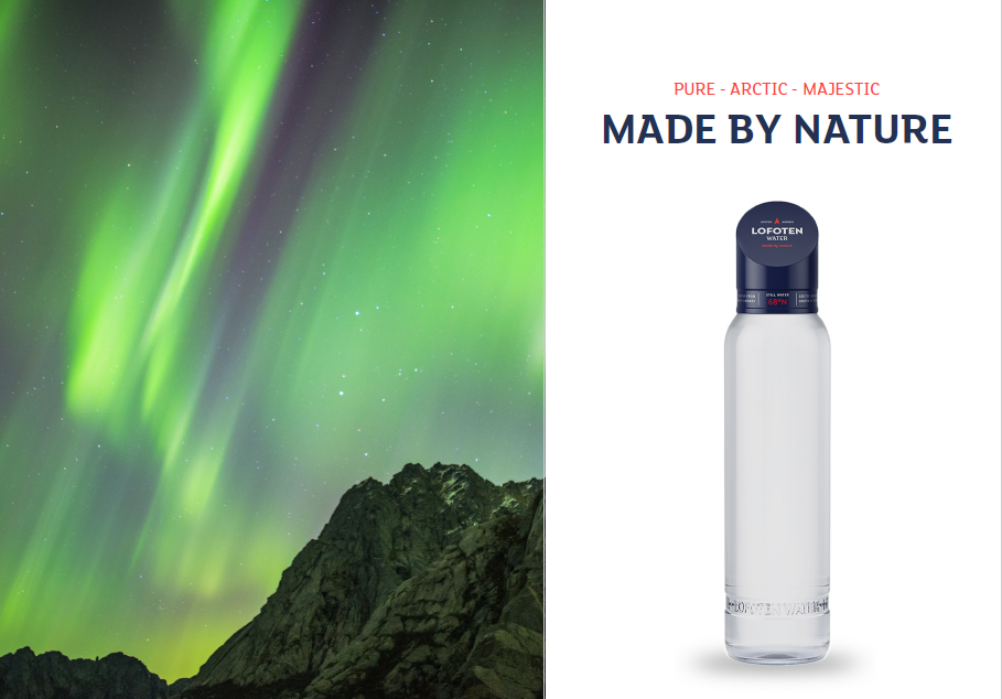 Lofoten Water - A Premium Brand Of Bottled Water From Nature's Paradise