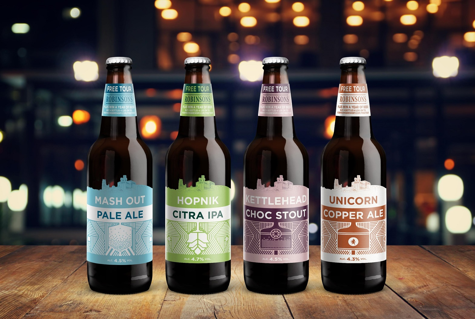 Robinsons Brewery Refreshes Its Premium Beer Line