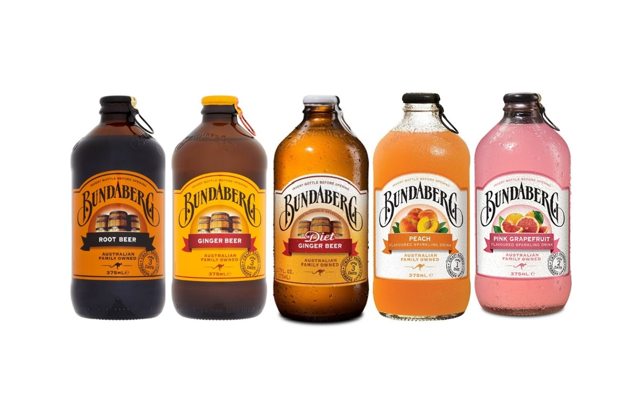 Bundaberg Exceptionally Flavorful Soft Drinks