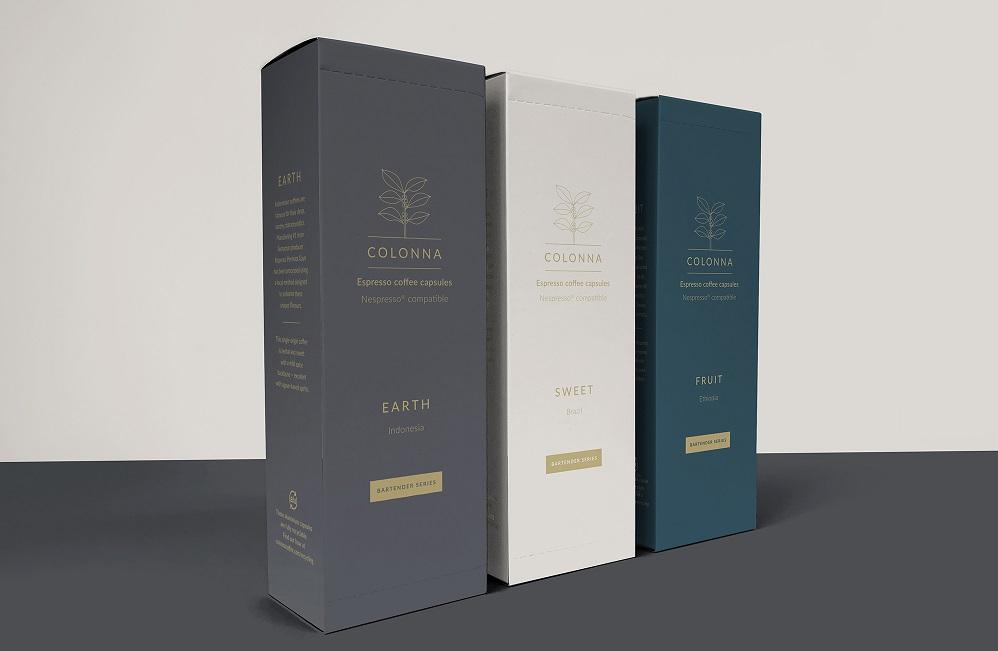 Colonna: Cocktail-Focused Coffee Capsules