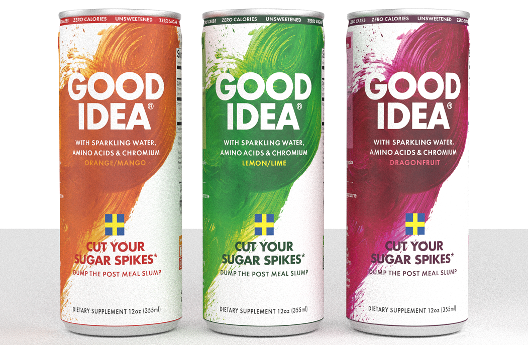 Avoid the Sugar Spike with Good Idea Drinks