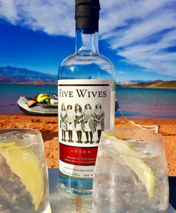 Five Wives Vodka - Handcrafted From Utah Mountain Springs