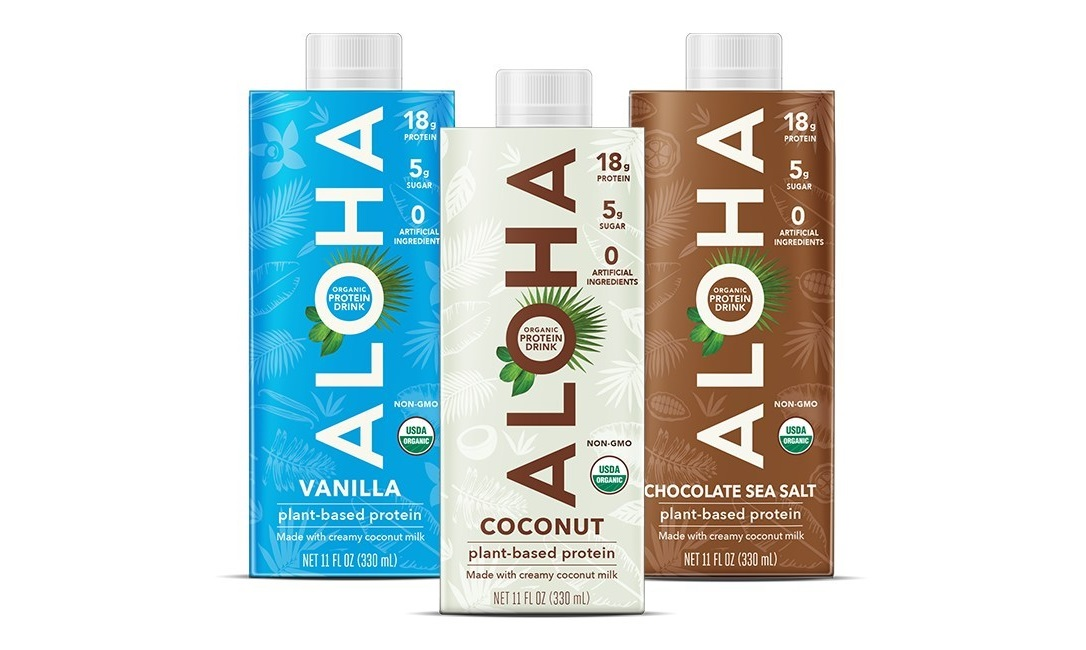 ALOHA Presents New Plant-Based Protein Drink