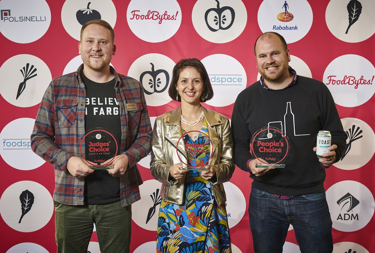 Bushel, Shaka Tea & Toast Ale Take Top Honors at FoodBytes