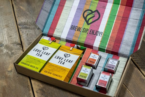 Love Leaf Tea Presents New Packaging By Durham Box
