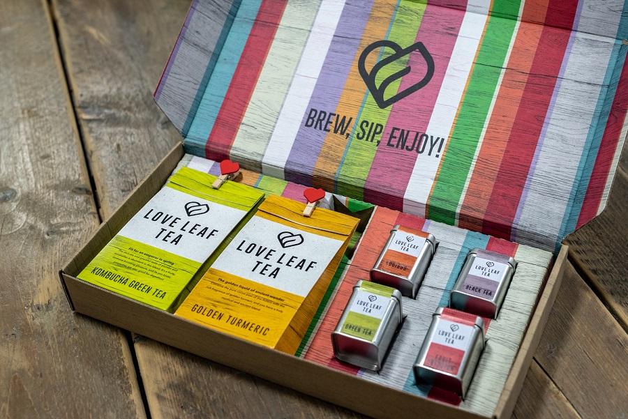 Lova Leaf Tea Presents New Packaging By Durham Box's
