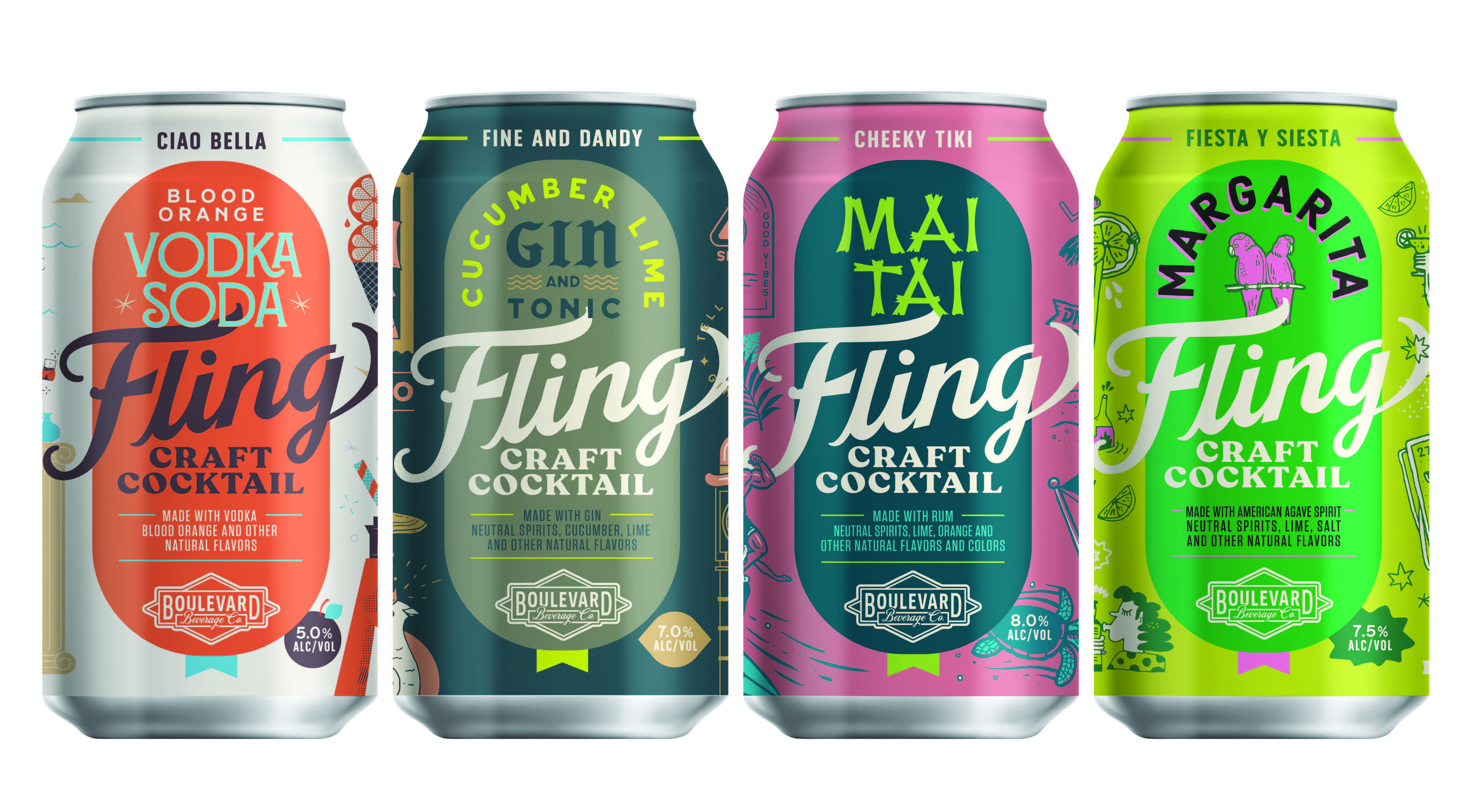 Fling Craft Cocktails By Boulevard Brewing Co.