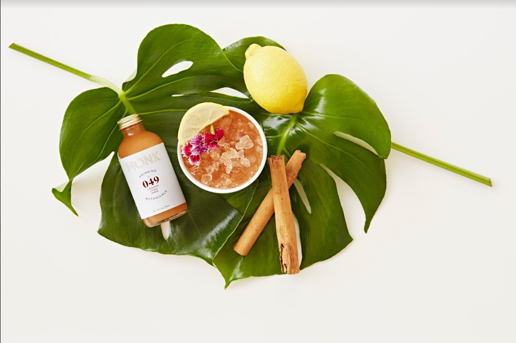 Monk Drinking Botanicals - A New Category Of Beverage