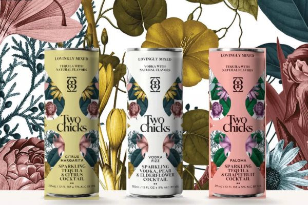 Two Chicks – Sparkling Cocktails with Natural Botanical Essences
