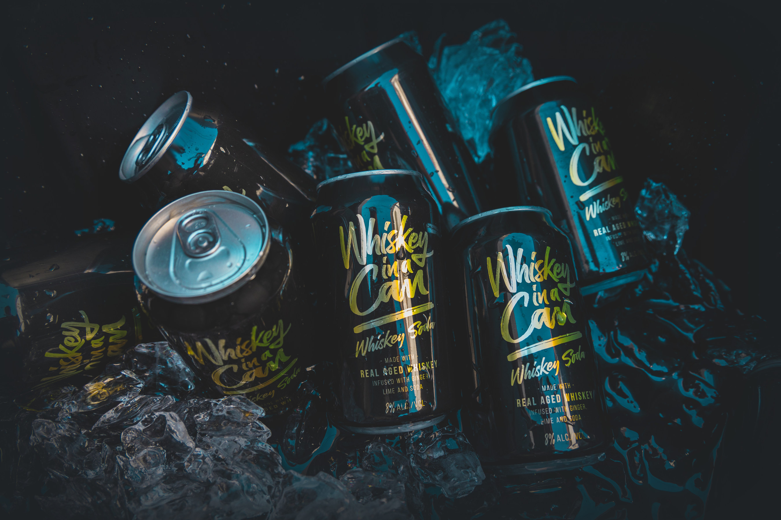 A Kickstarter Campaign By Whiskey In A Can