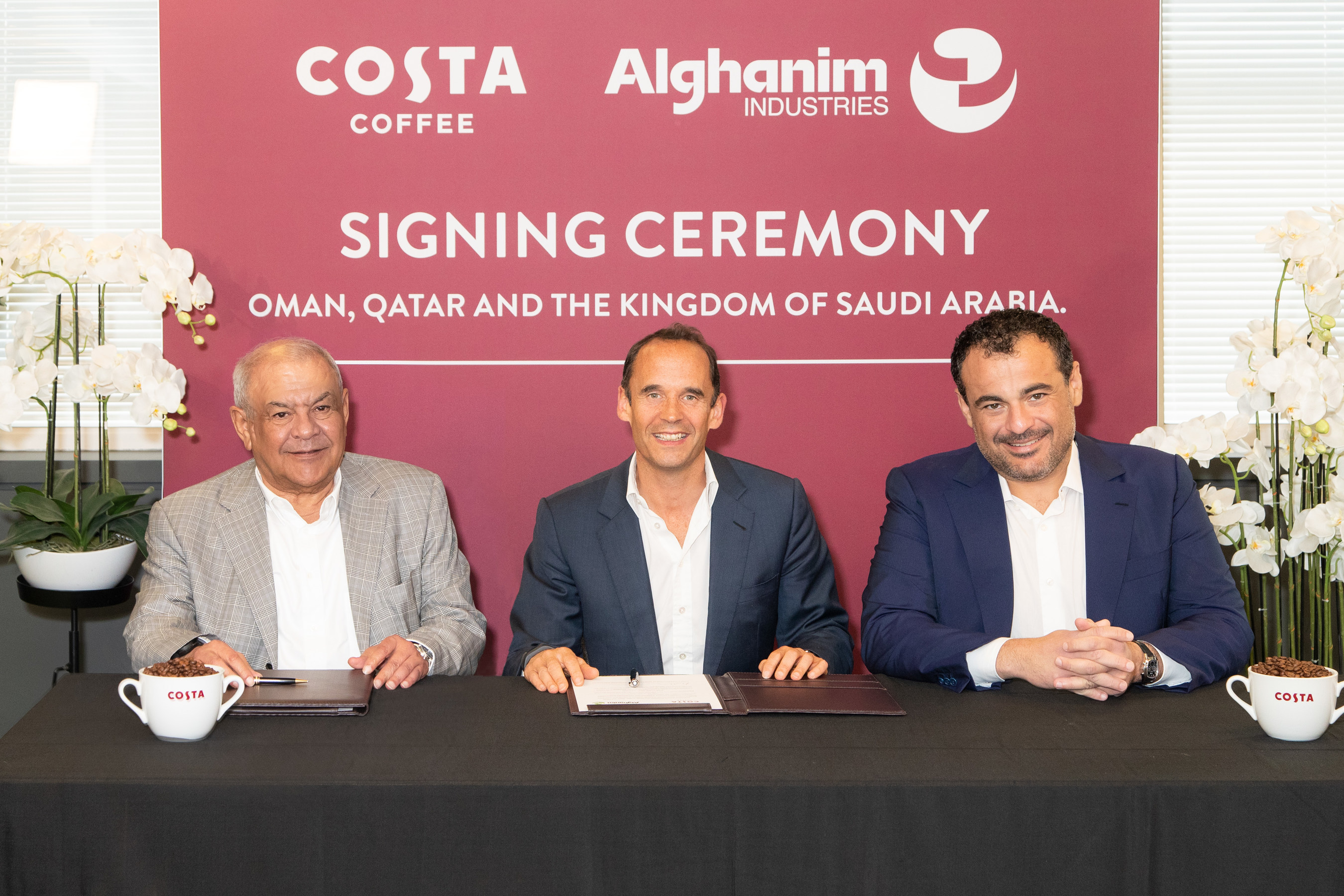 Alghanim Industries Will Open Costa Coffee Branches in Saudi Arabia