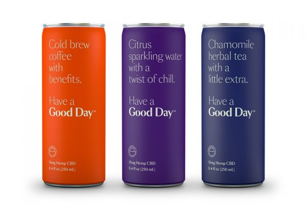 Good Day Releases Premium CBD-Infused Beverage Line