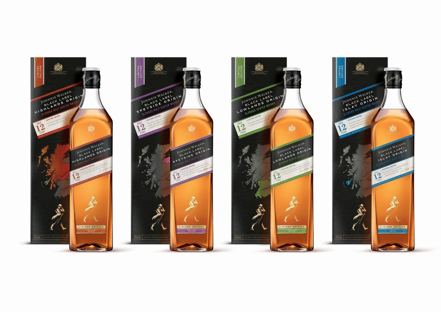 Johnnie Walker Introduces Four New Whiskies