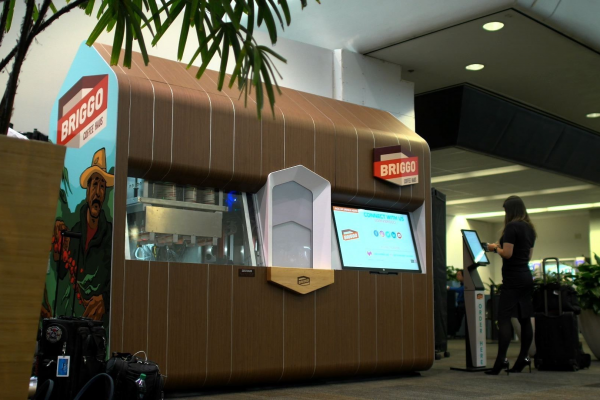 Briggo Opens Robotic Coffee Haus at SFO