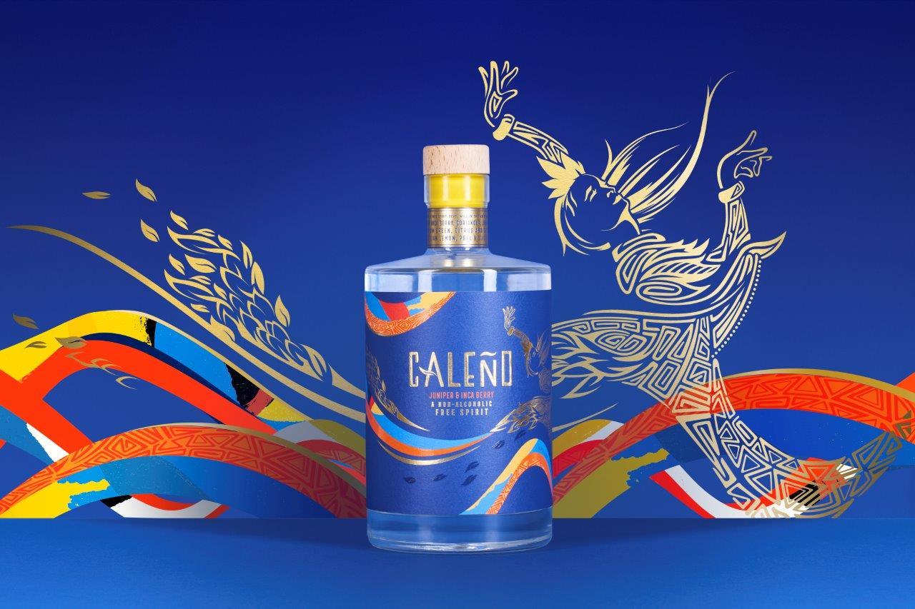 Caleno Juniper Inca Berry - A Non-Alcoholic Spirit