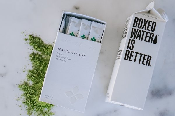Boxed Water Is Better Launches Boxed Matcha
