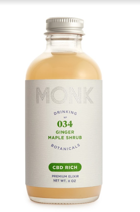 Monk Drinking Botanicals