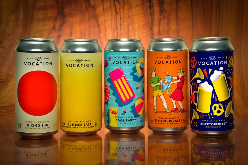 Vocation Brewery Partnerships With The Label Makers