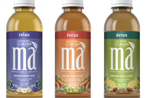 Introducing Má CBD+ Natural Botanicals Functional Iced Teas