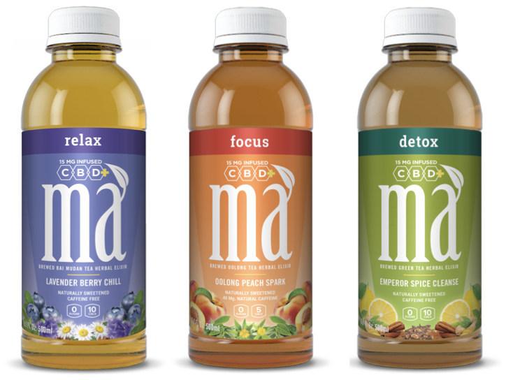 Introducing Má CBD+ Natural Botanicals Functional Iced Teas