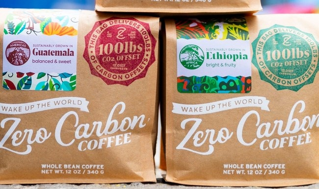 Eco-Friendly Zero Carbon Coffee