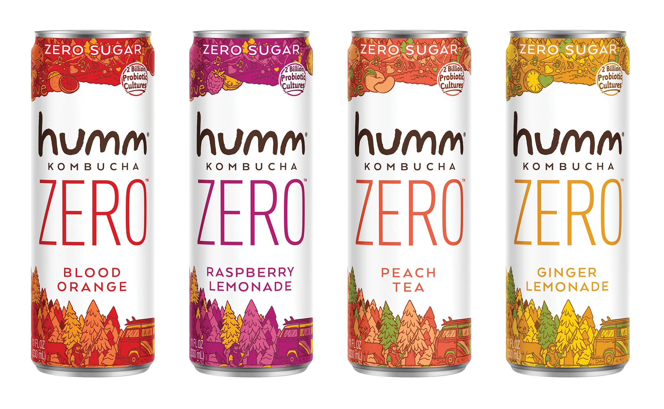 Humm Kombucha Launches Category Changing Humm Zero