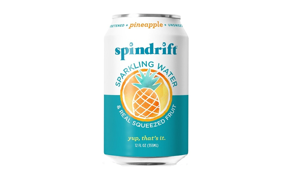 Spindrift Releases New Flavor Infused With Pineapple