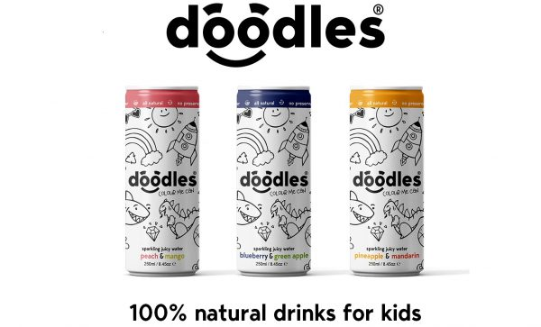 Doodles Targets Crowdcube to Bring Healthy Sparkle to Kids Soft Drinks