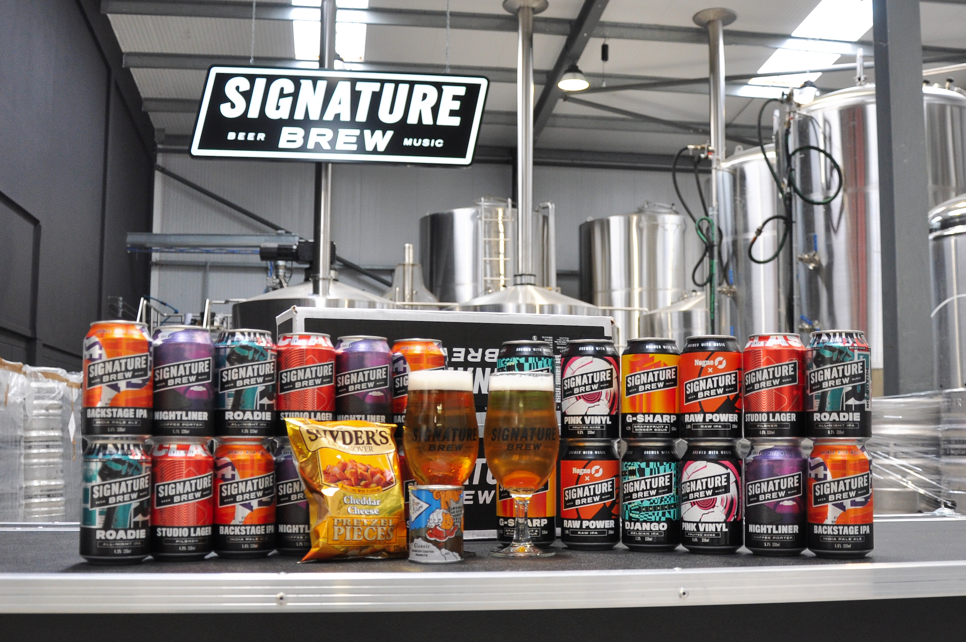Signature Brew Launch Core Range of Music-Inspired Beers Worldwide