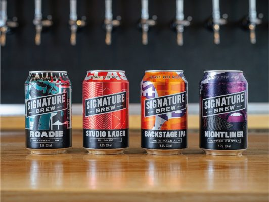 Signature Brew Launch Core Range of Music-Inspired Beers Worldwide