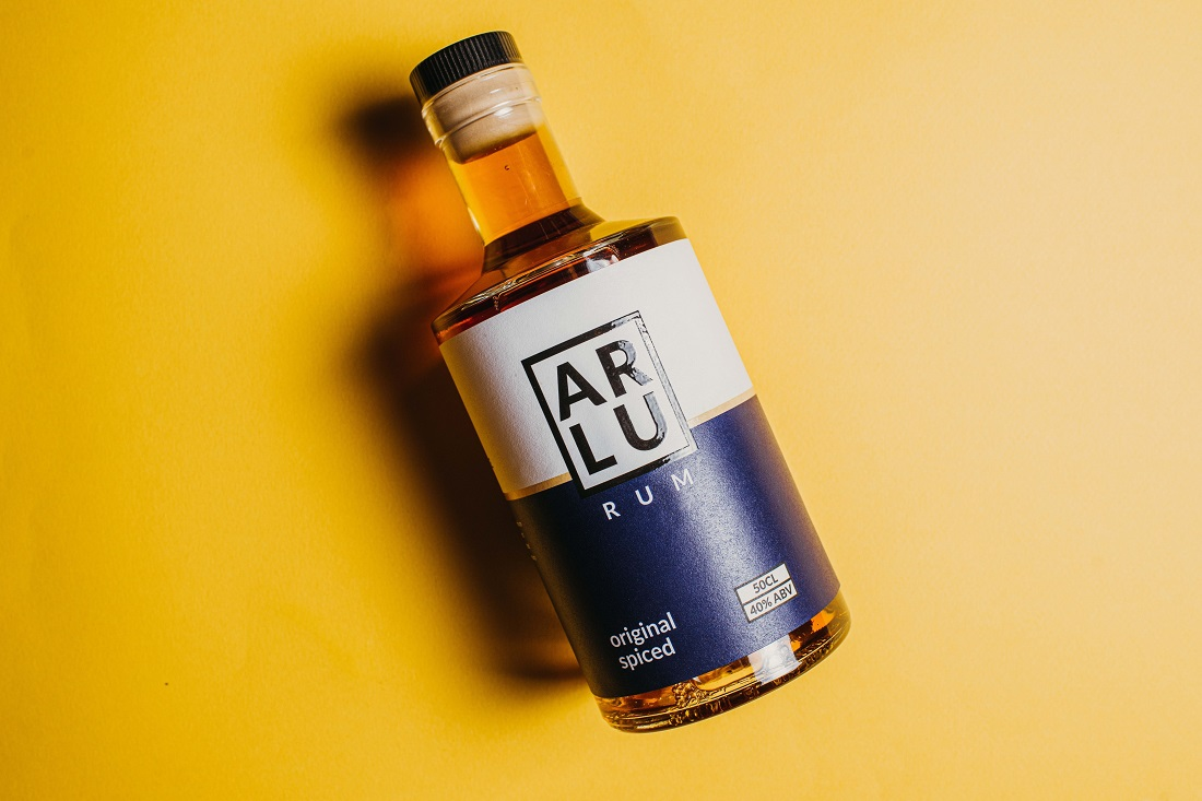 Arlu Rum Releases New Packaging Produced By The Label Makers
