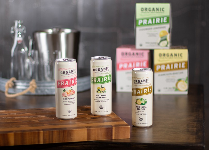 Prairie Organic Spirits Debuts With Sparkling Craft Cocktails