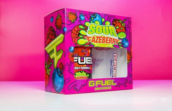 G FUEL And FaZe Clan Launches New Flavor