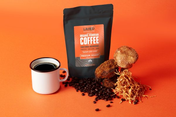 Laird Superfood Launches Coffee with Functional Mushrooms