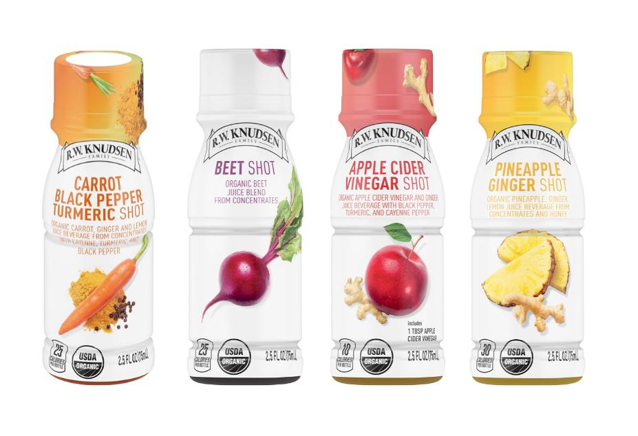 R.W. Knudsen Family Presents Organic Juice Beverage Shot Line