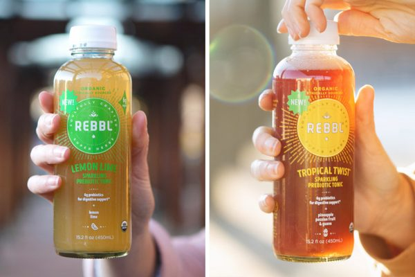 REBBL Launches Two New Sparkling Prebiotic Tonics