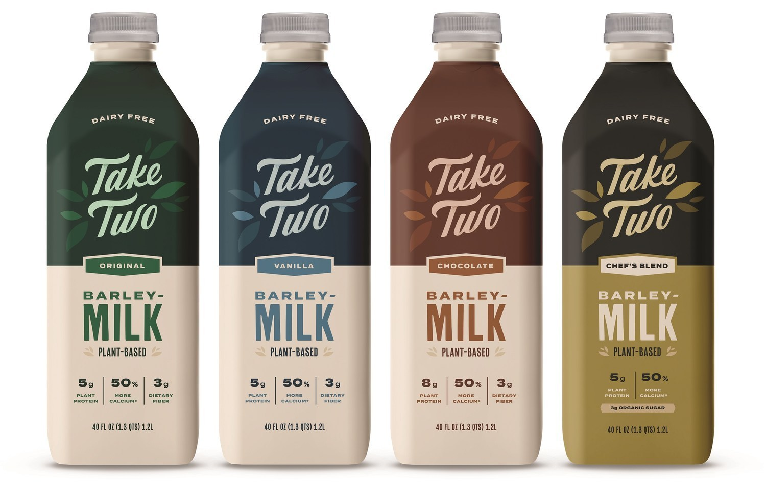 Take Two Foods Launches A Line Of Barleymilk