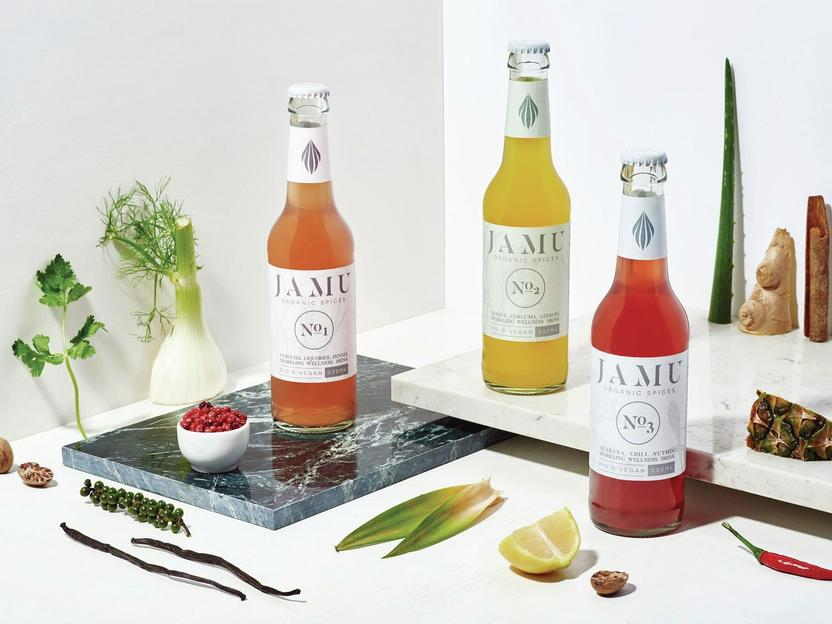 JAMU Organic Spices -Sparkling Wellness Drink
